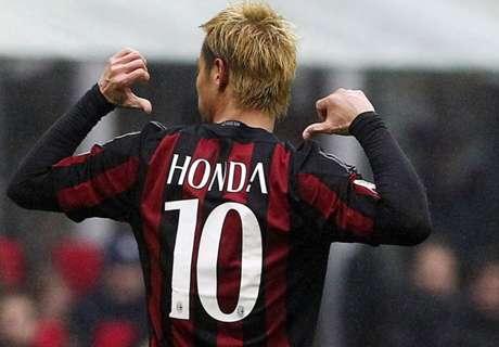 Bacca & Honda Bantu Milan Atasi Genoa