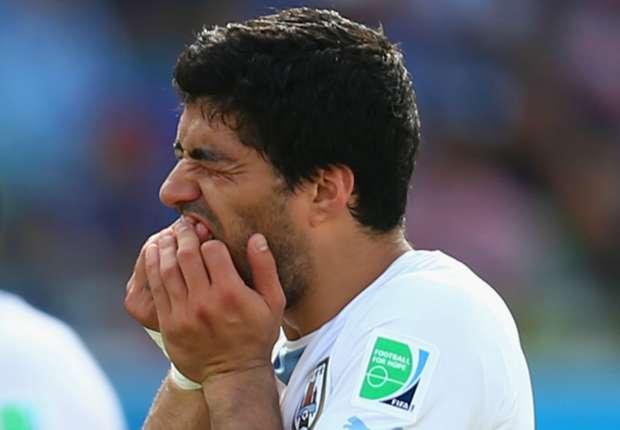 Luis Suarez wurde nach seiner Bissattacke lange gesperrt