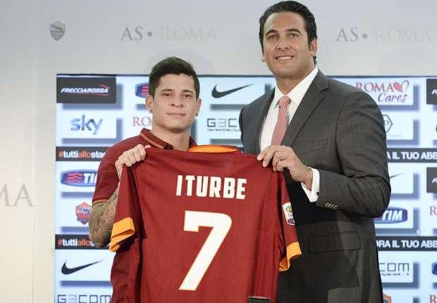 Heißbegehrter Coup: Der AS Rom hat sich Juan Iturbe geangelt