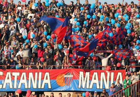 Catania Terancam Degradasi