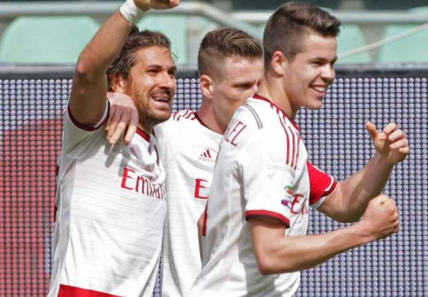 Palermo 1-2 AC Milan: Menez magic snatches late winner
