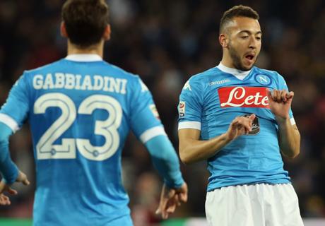 Napoli, al acecho de Juventus