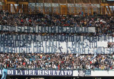 Napoli fans banned from Juve trip