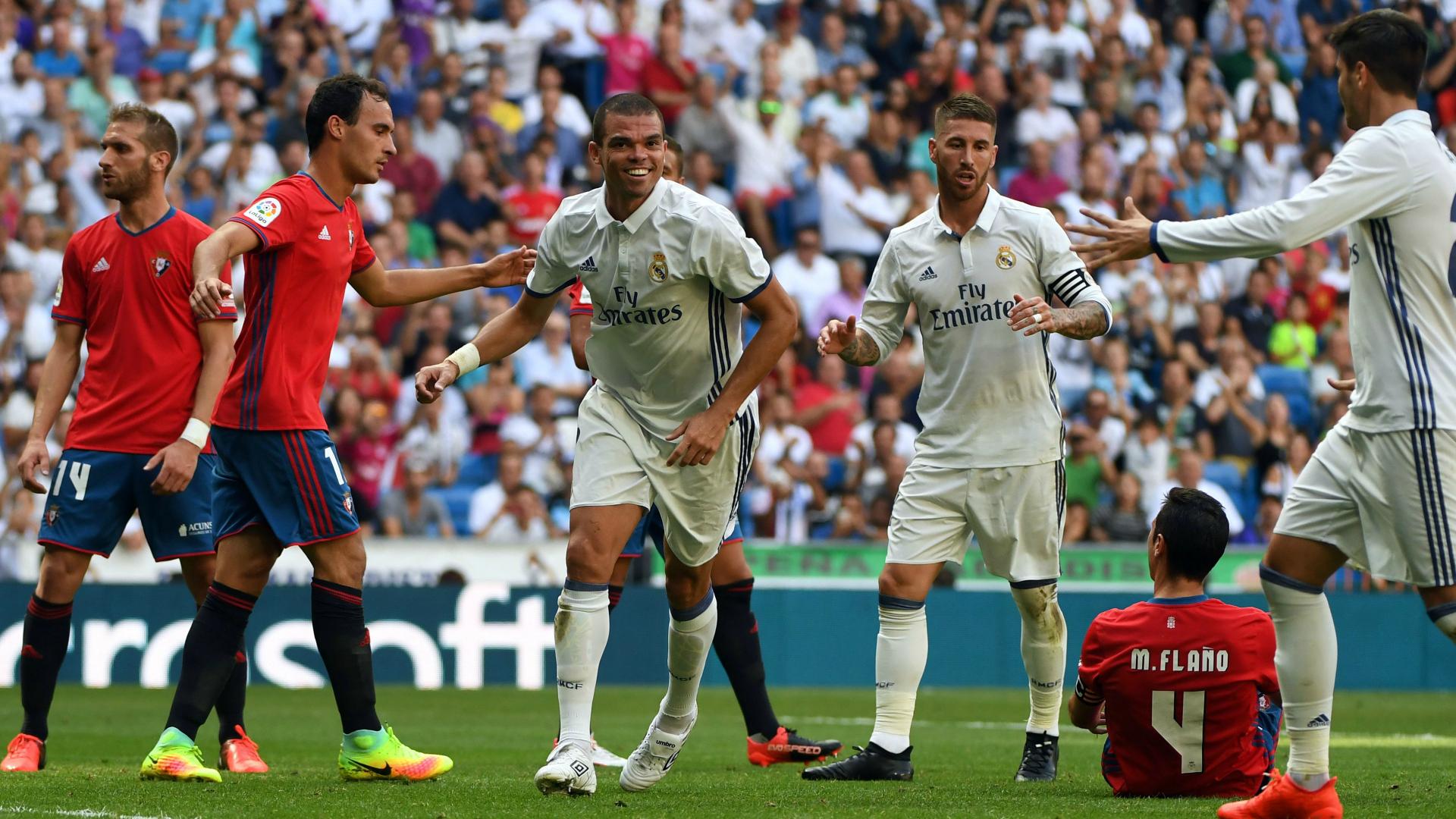 El Real Madrid recupera jugadores para su visita a Osasuna