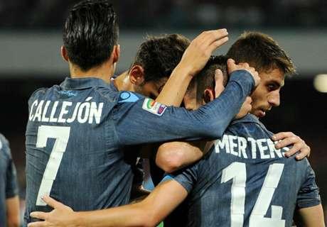 Naples-Cesena 3-2, résumé de match