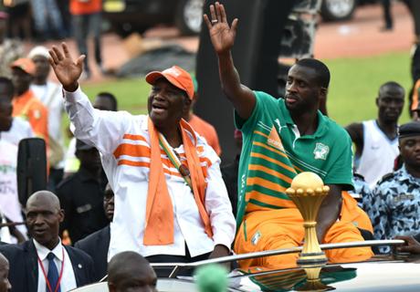 In Beeld: Ivoorkust groots onthaald