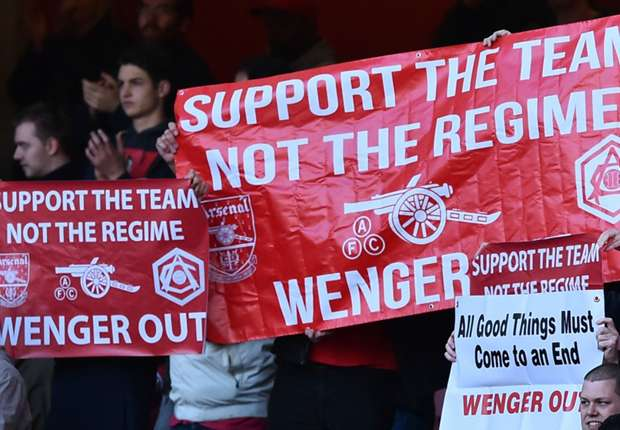 Wright 'delighted' with Arsenal fans' Emirates protest