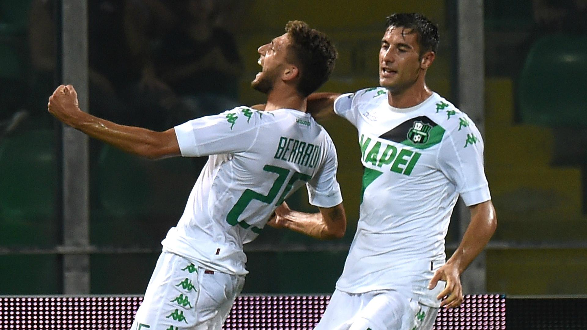 Palermo-Sassuolo 0-1, le pagelle: Balogh da incubo, Berardi e Sensi ok