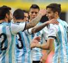 Amistoso: Argentina 2 x 0 Eslovênia