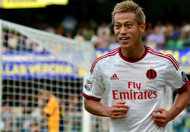 Verona 1-3 AC Milan: Honda at the double in Rossoneri stroll