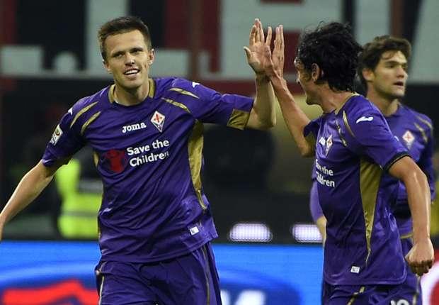 AC Milan 1-1 Fiorentina: Ilicic denies Rossoneri third place