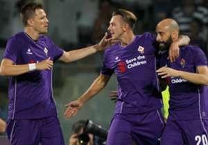 Fiorentina se impuso por 2-1 en Florencia.