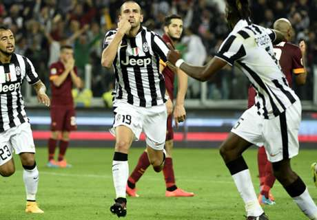 Juve face early Roma showdown