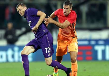 Fiorentina in slotfase langs AS Roma
