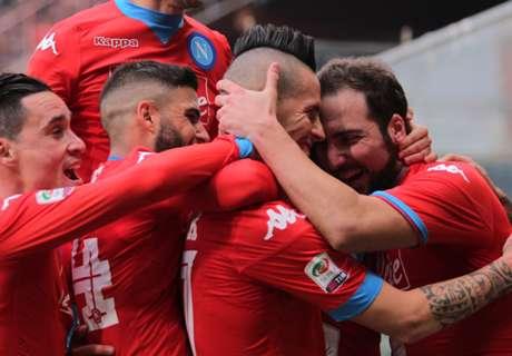 Serie A: Sampdoria 2-4 Nápoles