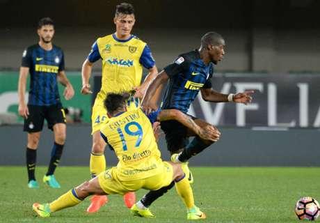 Inter cayó ante Chievo Verona