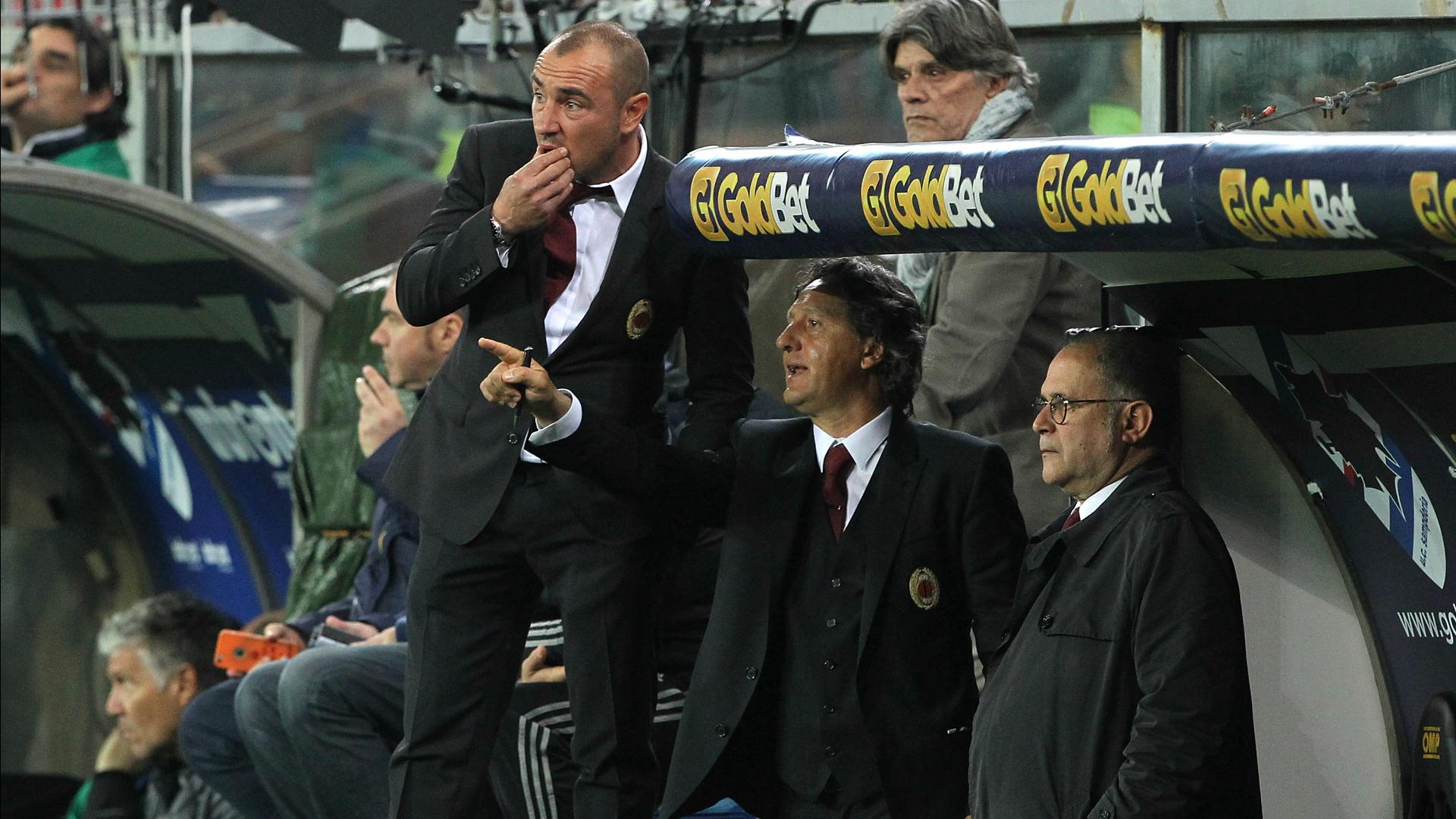 Milan, Brocchi vuole il quinto posto e la Coppa Italia