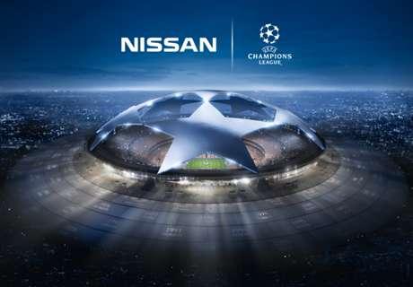 โหวตเลือก UEFA Champions League Goal of the Week โดย Nissan!