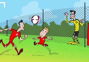 29 DE ABRIL. Hummels espera el llamado de Bayern Munich.