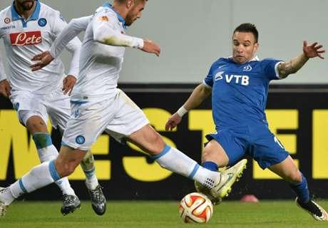 Europa League | Dinamo 0-0 Nápoles