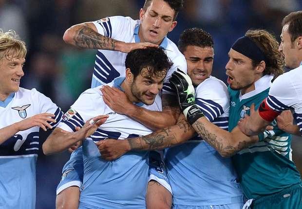 Lazio Rom verteidigte Platz zwei in der Tabelle der Serie A