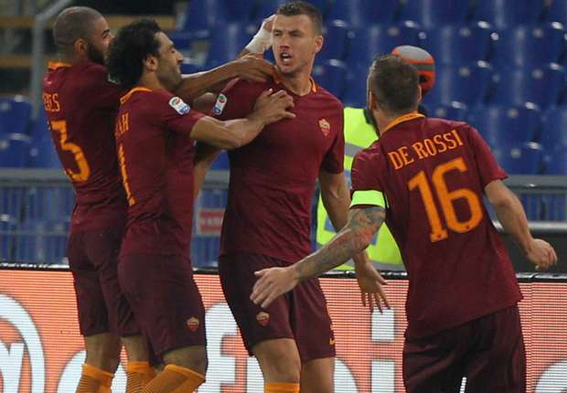 Roma 2-1 Inter: Dzeko and Manolas give hosts win