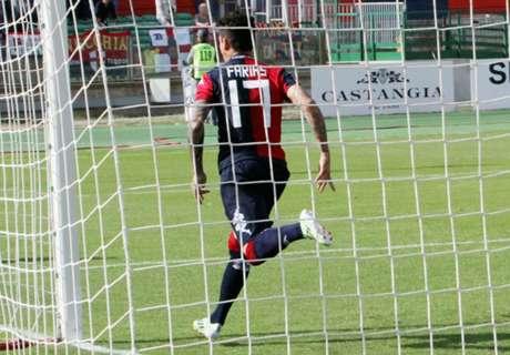 VIDEO - Highlights Cagliari-Entella 1-0