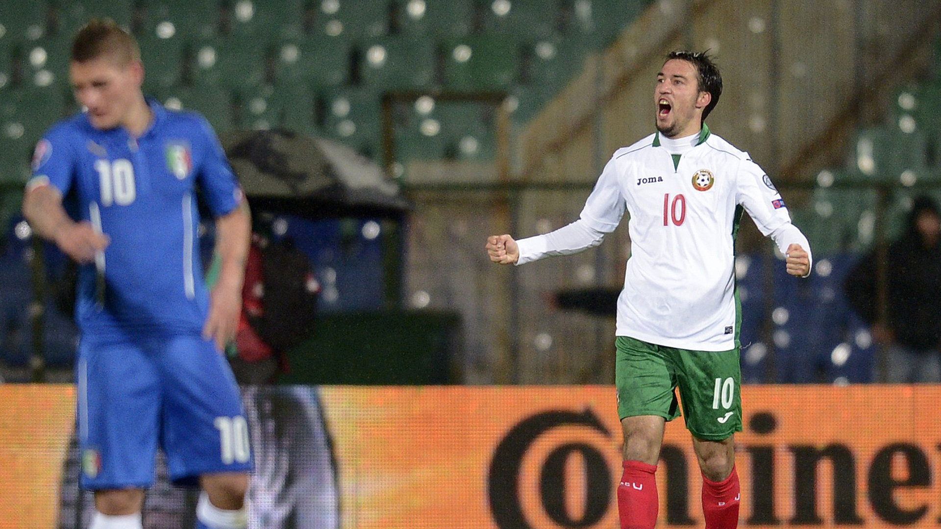 Ivelin Popov Bulgaria Italy Euro 2016 qualifier 03282015