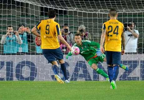 Serie A: Hellas Verona 2-1 Juventus