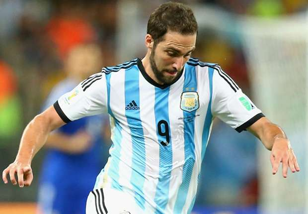 "Higuain: ""Duitsland is bang"""