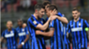 Inter celebrating Inter Udinese Serie A 23042016
