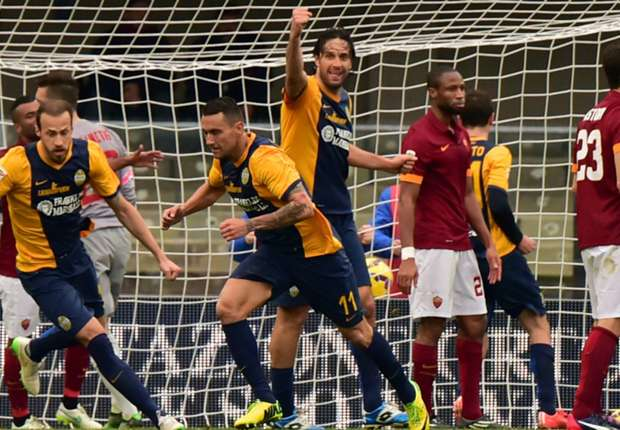 Hellas Verona 1-1 Roma: Jankovic piles more misery on Garcia