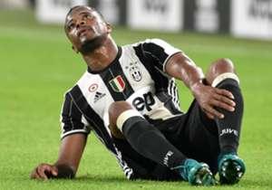 Evra a terra con la Sampdoria