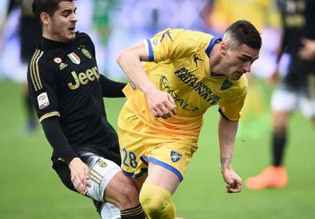 Frosinone-Juventus 0-2, résumé de match