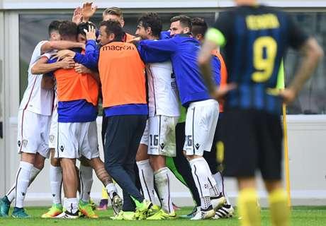 Serie A: Inter 1-2 Cagliari