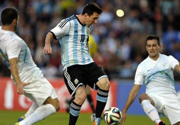 Argentina Slovenia Messi