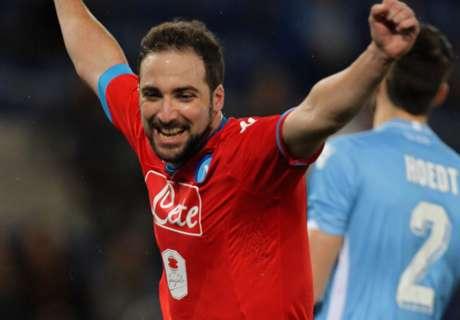 El Napoli del Pipa sigue líder