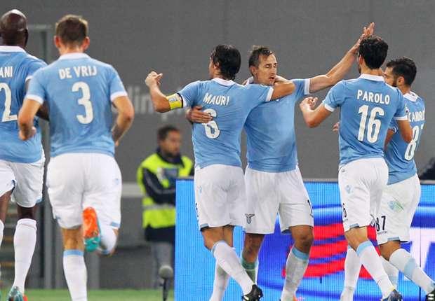 Klose mit zwei Treffern bei Lazios Sieg am Montagabend