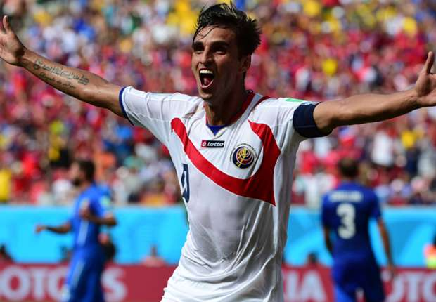 Bryan Ruiz anotó el histórico gol Tico