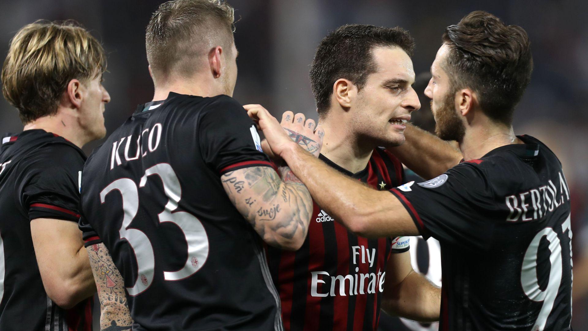 La SuperCoupe revient au Milan AC — Italie