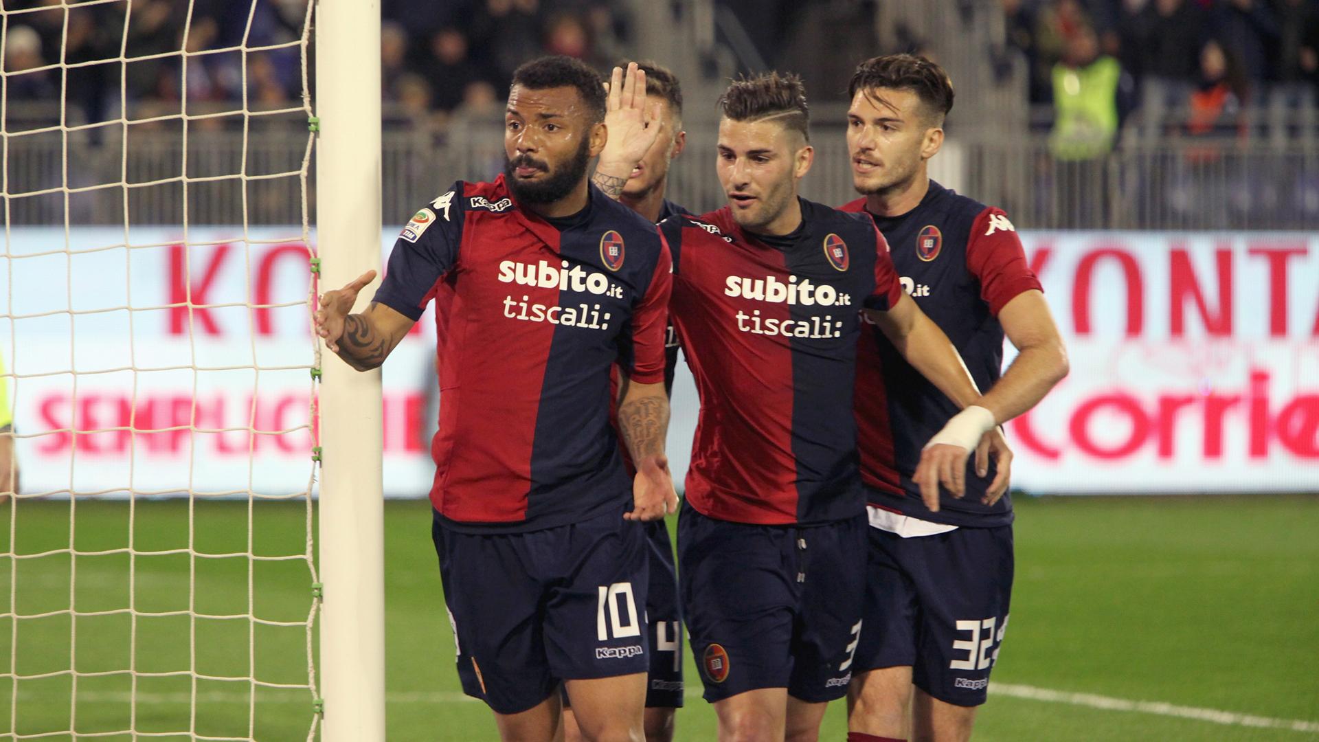 Cagliari-Ascoli 3-0, pesante stop per i bianconeri