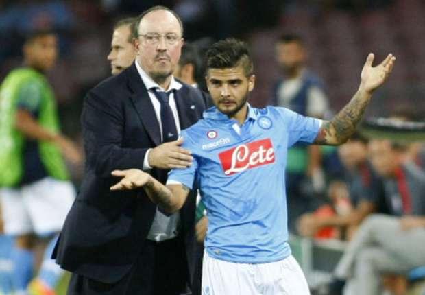 Pressure on Athletic, insists Napoli boss Benitez