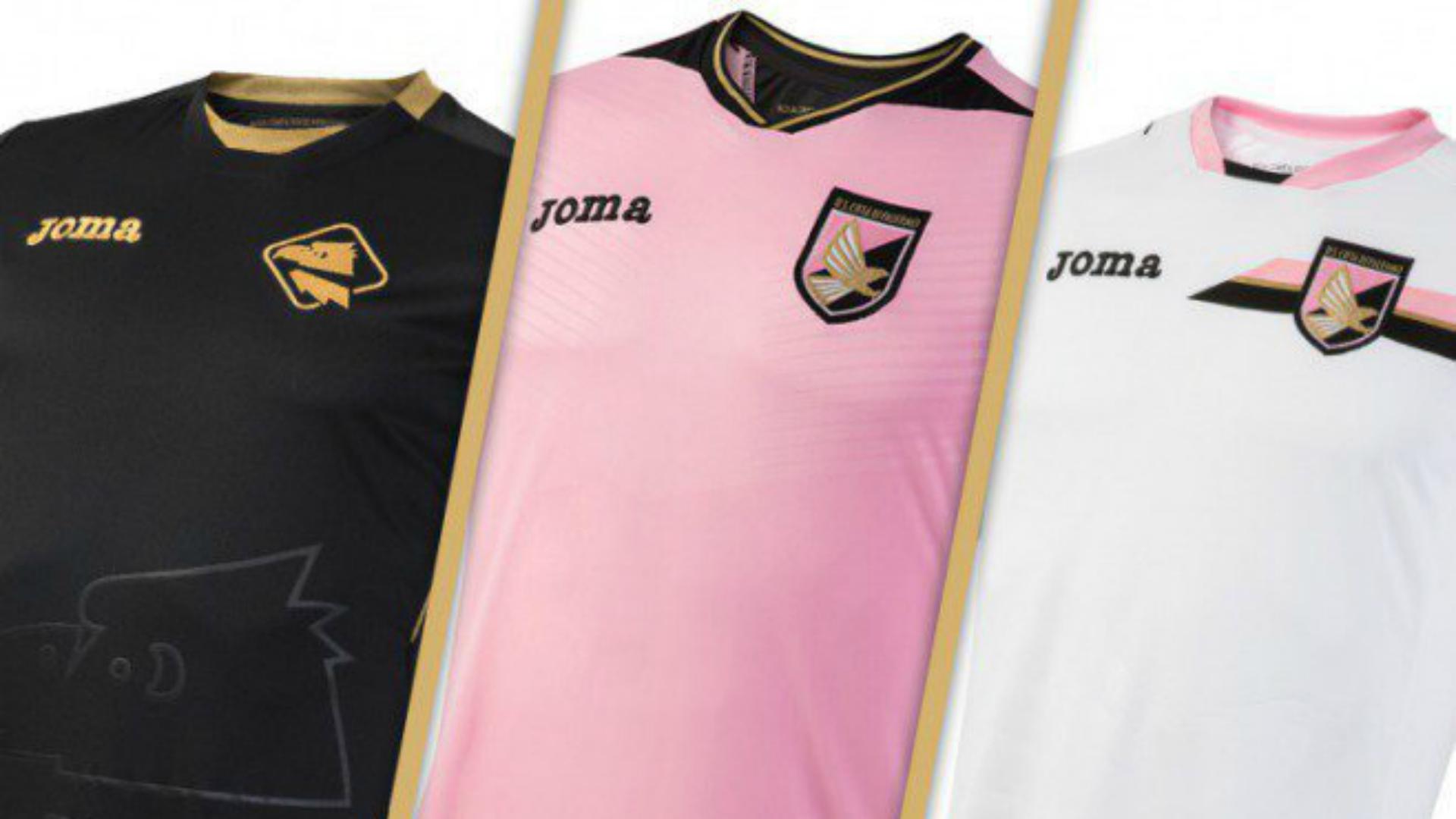 Palermo, ecco le maglie 2016-2017: il main sponsor diventa Bisaten