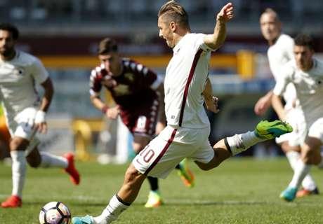 Torino dejó sin festejo a Totti