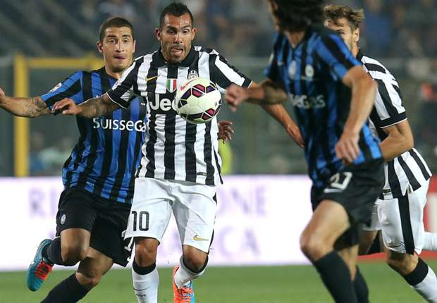 Atalanta 0-3 Juventus: Tevez shines as champions win again