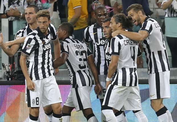 Juventus 2-0 Udinese: Tevez and Marchisio seal comfortable win