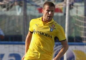 Perpetuini nel 2009, con la maglia della Lazio