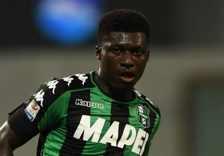 Sassuolo want €15m for Alfred Duncan