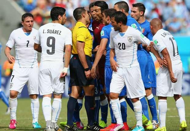 Uruguay sukses singkirkan Italia.