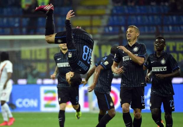 Inter 2-1 Roma: Late Icardi winner keeps European hopes alive